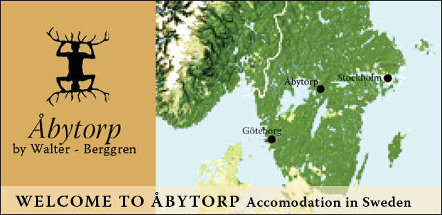 Abytorp By Walter Berggren Beautiful Accomodation In Abytorp - Sweden vegetation map